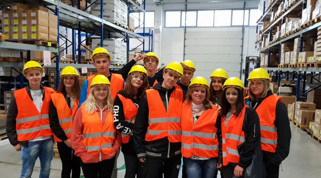 Grupa włoska w fabryce aluminium Hydro!